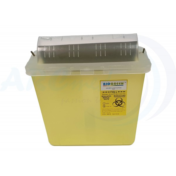 Sharp Bin Container 5Qt